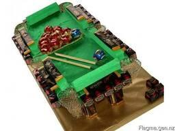 Бильярдный стол из конфет