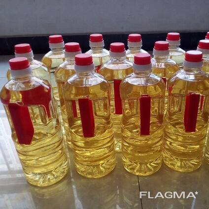 Refined vegetable oils; sunflower oil, canola oil, corn oil